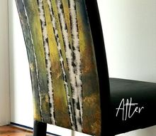 turn your soft furnishings into art with this super simple diy, LOVE Art on furniture why not
