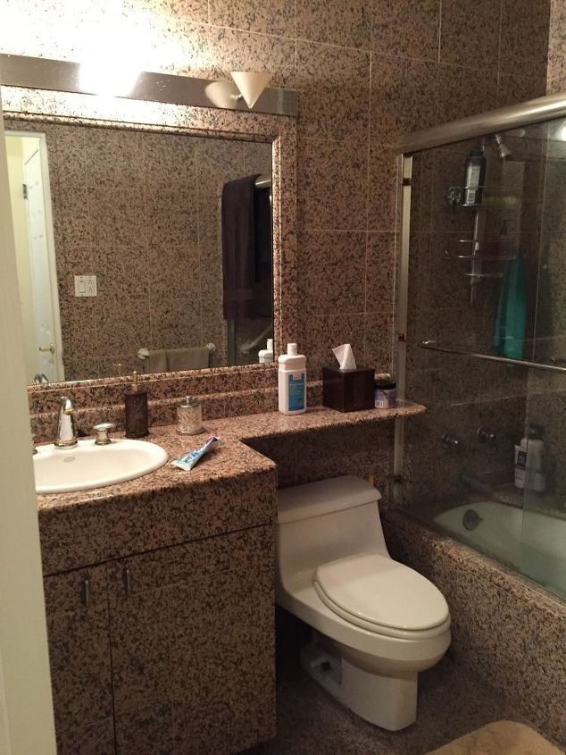 q i have an apartment in manhattan and the bathroom pictured below needs