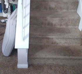 Ideas For How To Attach A Stair Runner Over Carpeted Stairs Hometalk