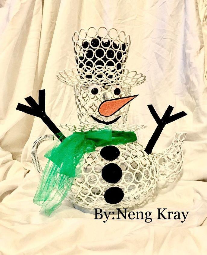 teacup snowman