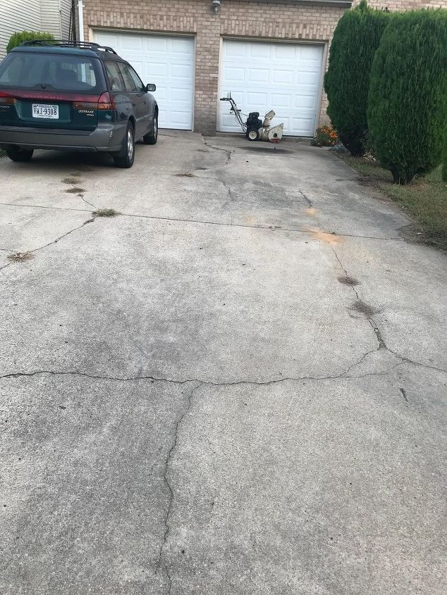 q about my driveway