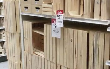 s step by step turn crates into the perfect pieces for your home