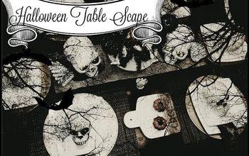 Halloween Tablescape 2017