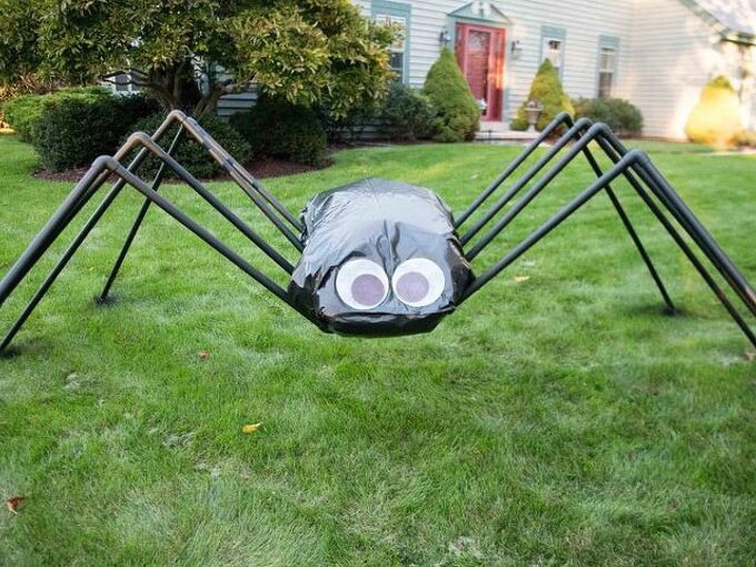 giant spider diy