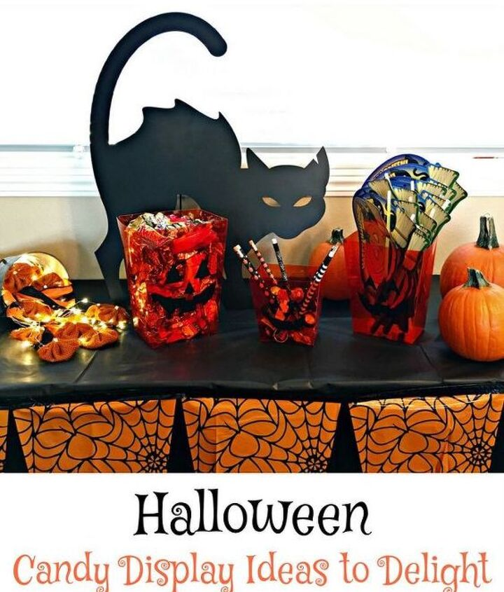 diy halloween candy display ideas to delight