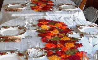 easy diy table runner autumn or anytime