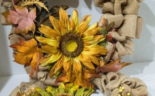 the ultimate easy diy burlap wreath for fall