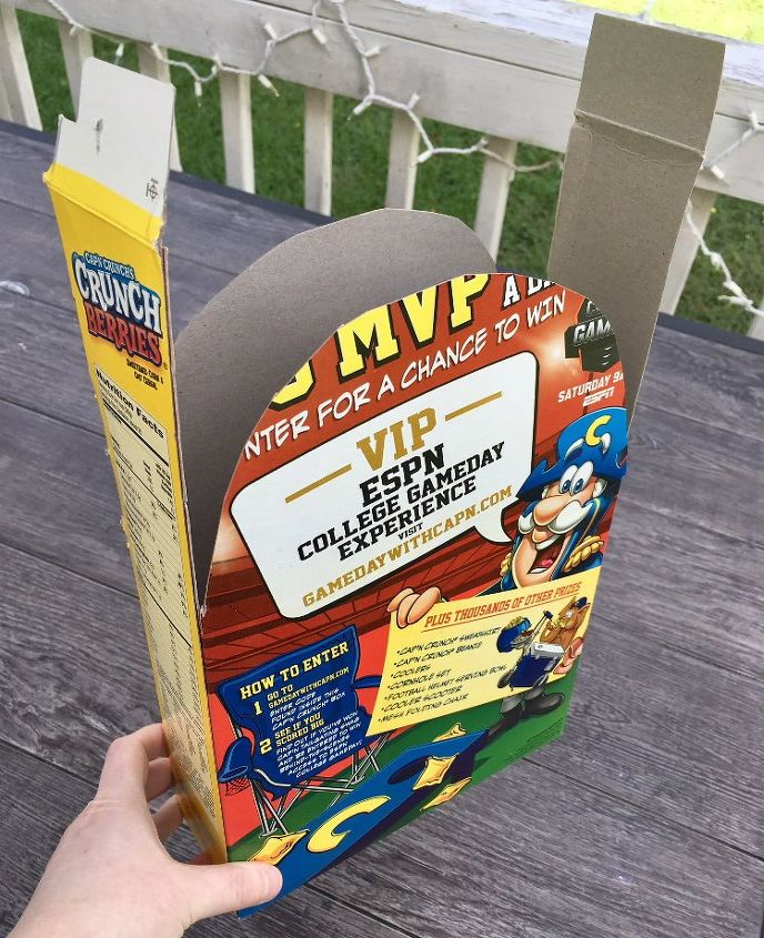 diy cereal box halloween tombstone decorations