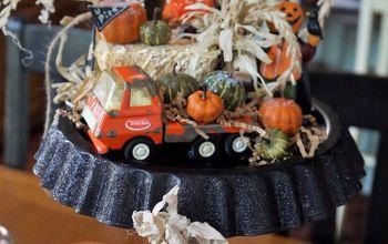 creating holiday scenes using tart tins
