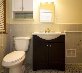 DIY Simple White IKEA Bathroom Renovation Hometalk
