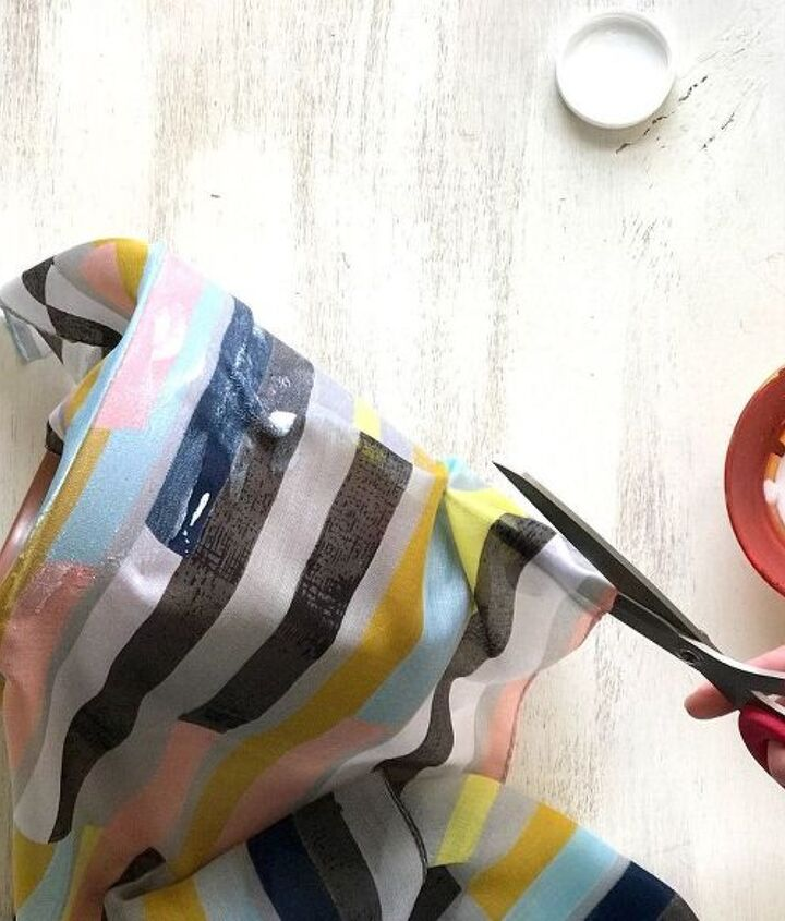 s step by step upcycle your old clothing items for these great ideas, Step 3 Cut pleats