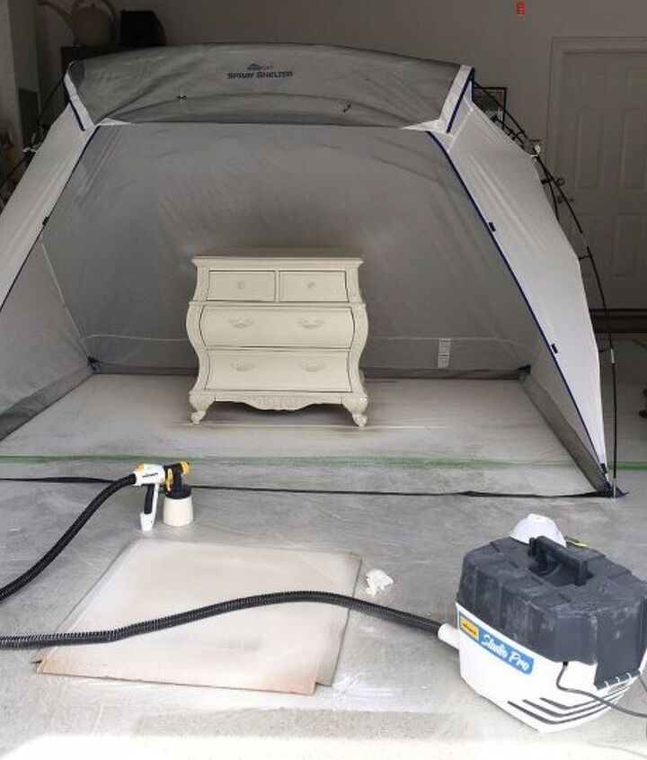 how to use a paint sprayer even inside of your home