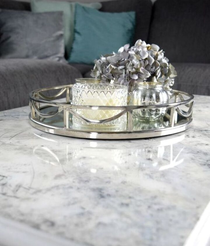 turn an ordinary coffee table into a statement piece