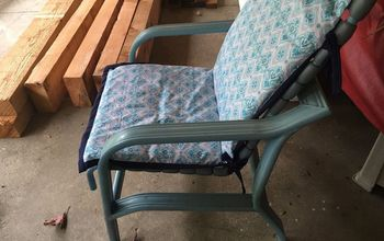 recovering patio chair cushions