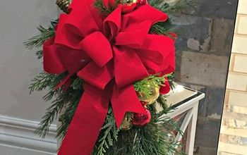 Dress up a Lantern for Christmas!