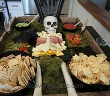 halloween cheese and meat platter
