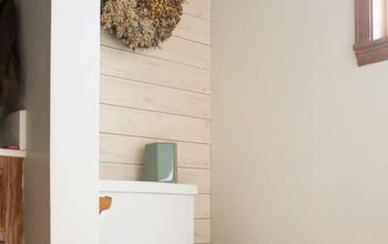 Install Wall Planks (or Shiplap Looking Planks) In Just 2 Hours