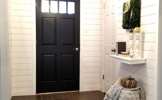 entryway shiplap, Remodel