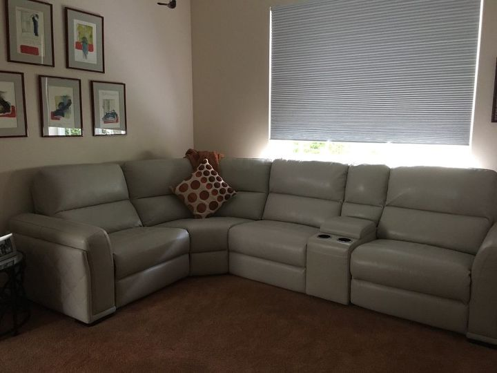 Tremendous What Pillows Look Best With A Dove Grey Leather Sectional Alphanode Cool Chair Designs And Ideas Alphanodeonline