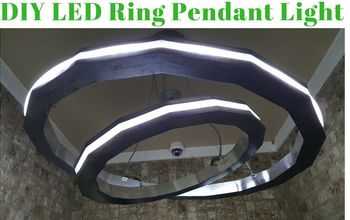 modern diy led rings of light, Modern LED Segmented Rings Light
