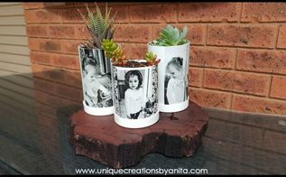 pvc pipe photo planters, Photo Image Transfer to PVC Pipe