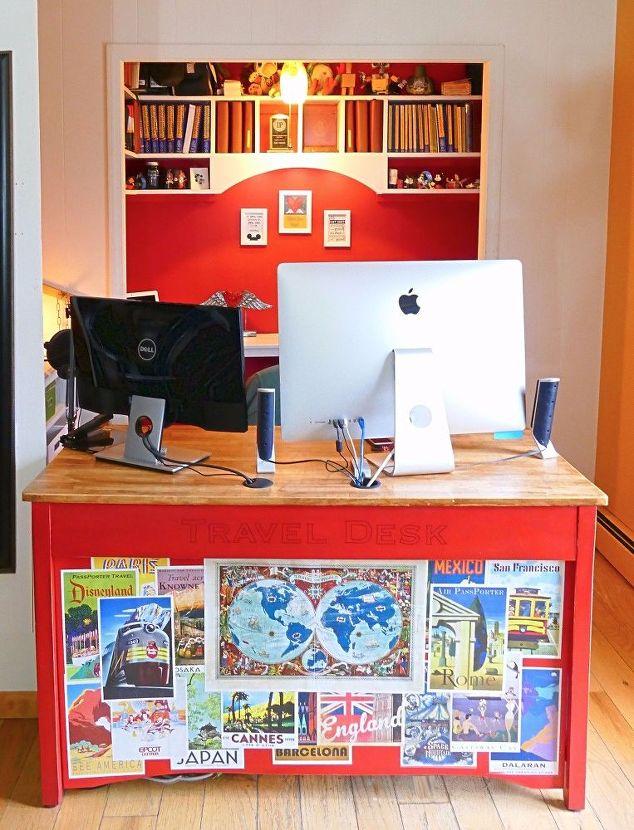 6 creative diy computer desks