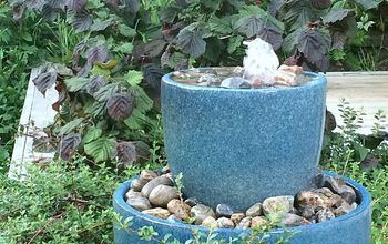 MAKE A BUBBLE FOUNTAIN FOR YOUR YARD! (IN AN AFTERNOON & ON A BUDGET!)
