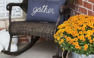 budget friendly fall front porch
