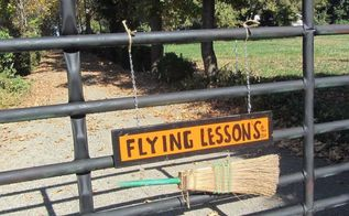 a lesson in halloween flying