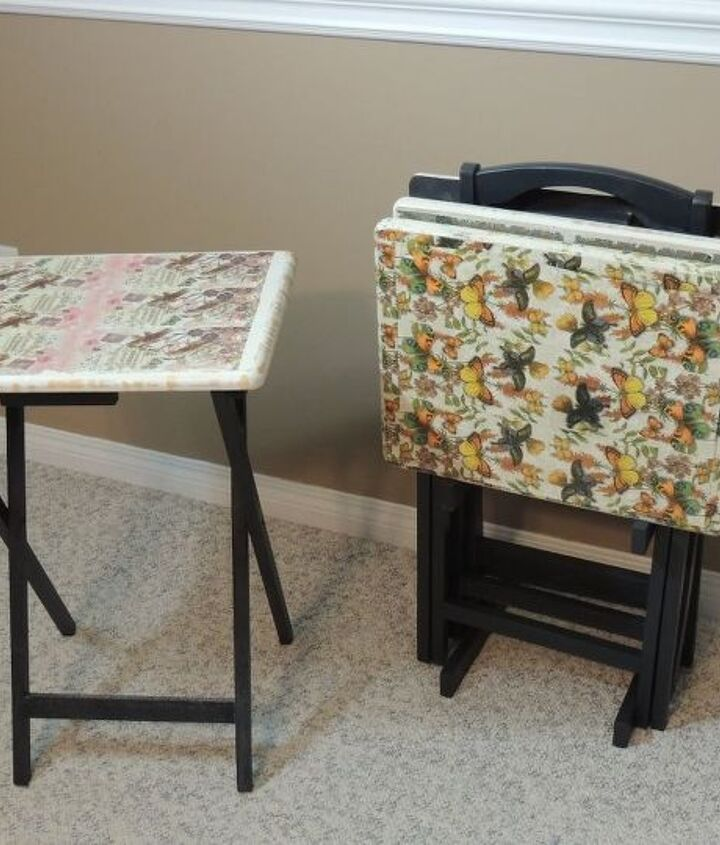 from blah to awesome tv tables
