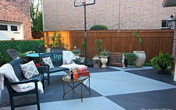Paint Your Concrete Patio!