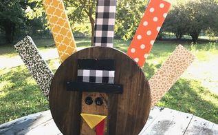 wooden turkey diy