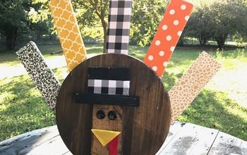 Wooden Turkey DIY