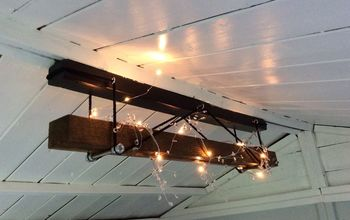 industrial light fitting for a summer house
