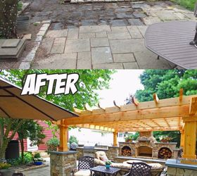 Backyard Transformation Before After Hometalk