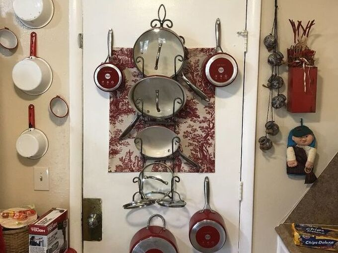 creative pot rack