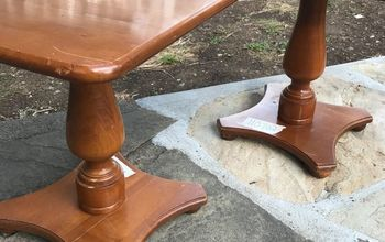 Flipping End Tables From Drab To Fab