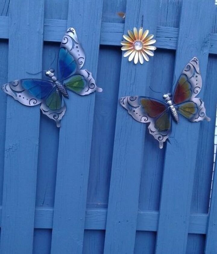 Butterflies and flower start it off.