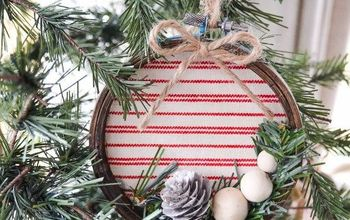 diy embroidery hoop christmas ornament