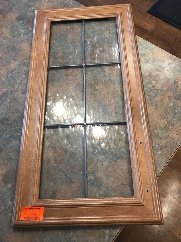 A Woman Finds A Cabinet Door For 5look At Her Gorgeous Idea For