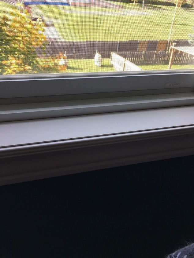 q what can i put on my window ledge to keep the wood from getting marked