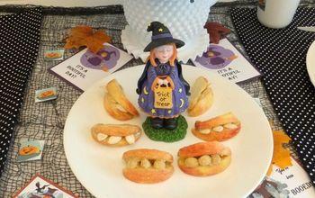 Fun Halloween Table Using Printables