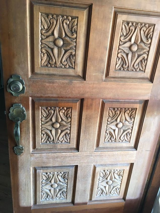 q i have a front door that needs to be refinished how do i do this