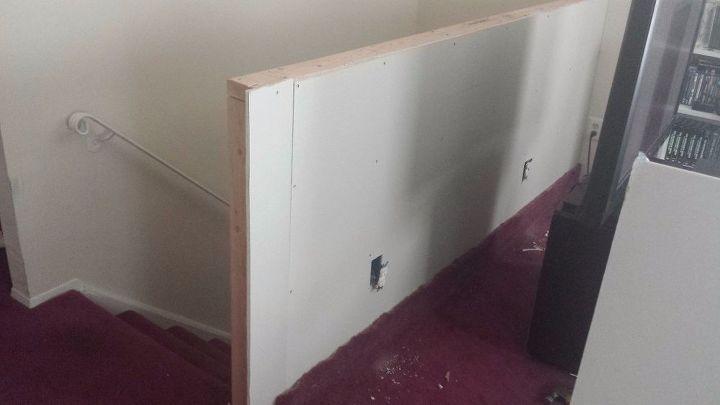 Half Wall At Top Of Staircase Hometalk