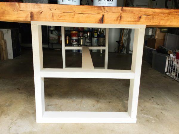 diy pottery barn inspired farmhouse kitchen table