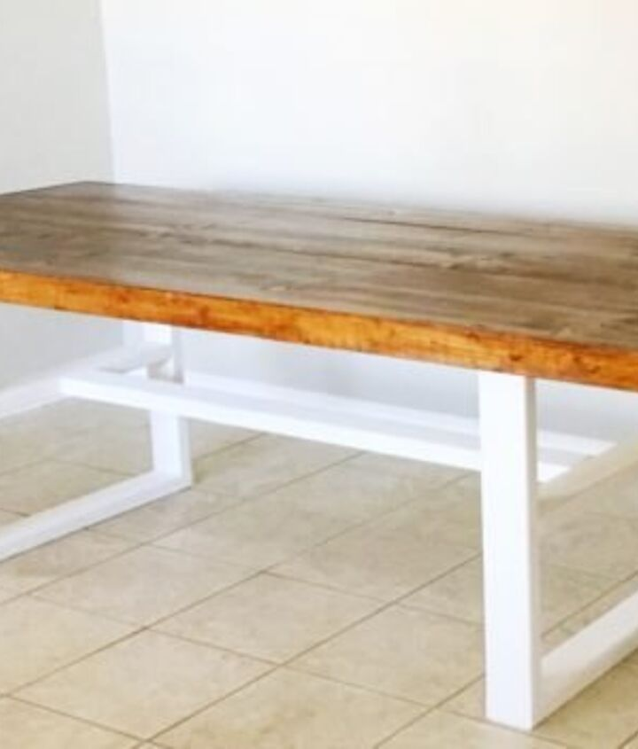 diy pottery barn inspired farmhouse kitchen table