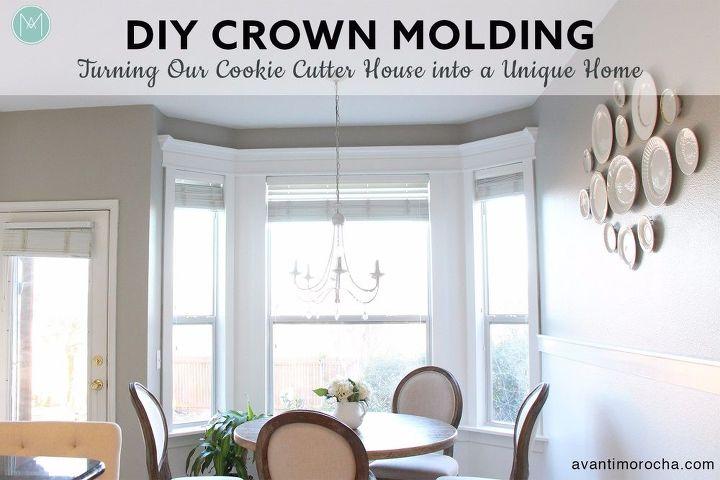 diy crown molding home improvement