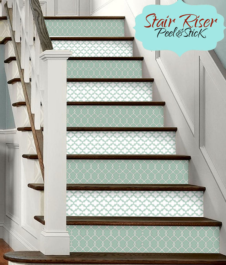 30 minute stair makeover