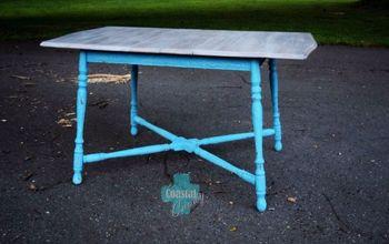 coastal farmhouse table