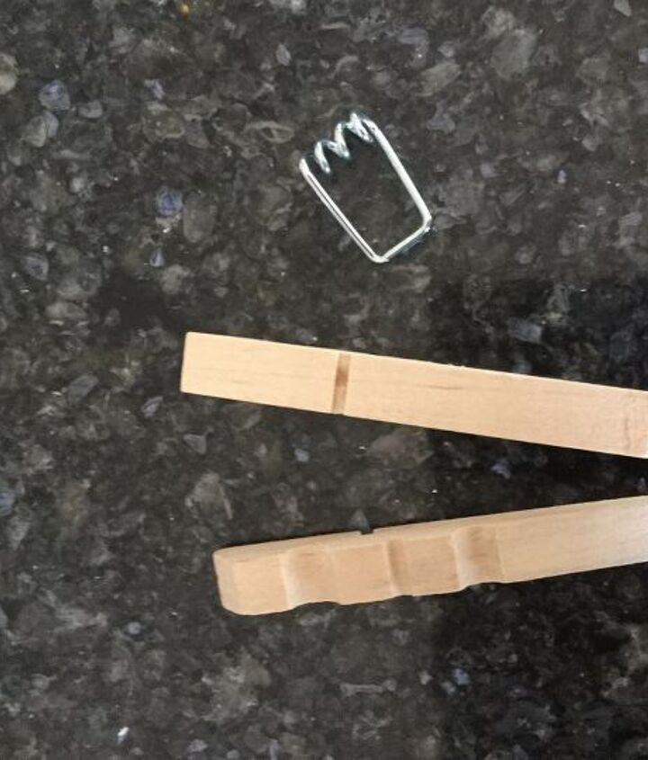s 3 easy ways to make the cutest coasters for your house, Step 1 Pull apart clothespins